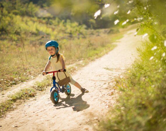 I never learned how to ride a bike